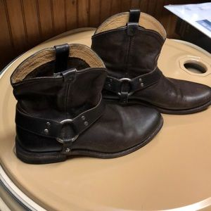 Frye Wyatt Harness short boot 7 1/2